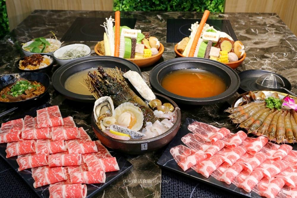 台中火鍋推薦浮誇系龍蝦海鮮鍋,台中嗑肉石鍋河南店
