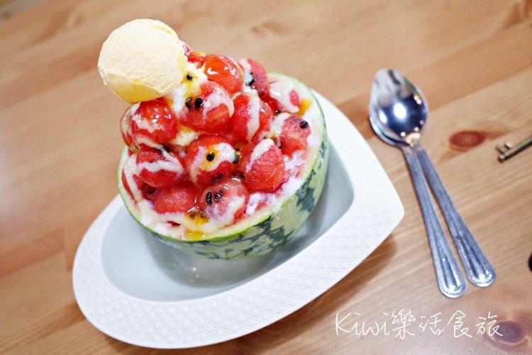 彰化冰品|莓好 Mei Hao冰菓室,西瓜炸彈也太強大了!美美的乾燥花氛圍IG打卡熱點