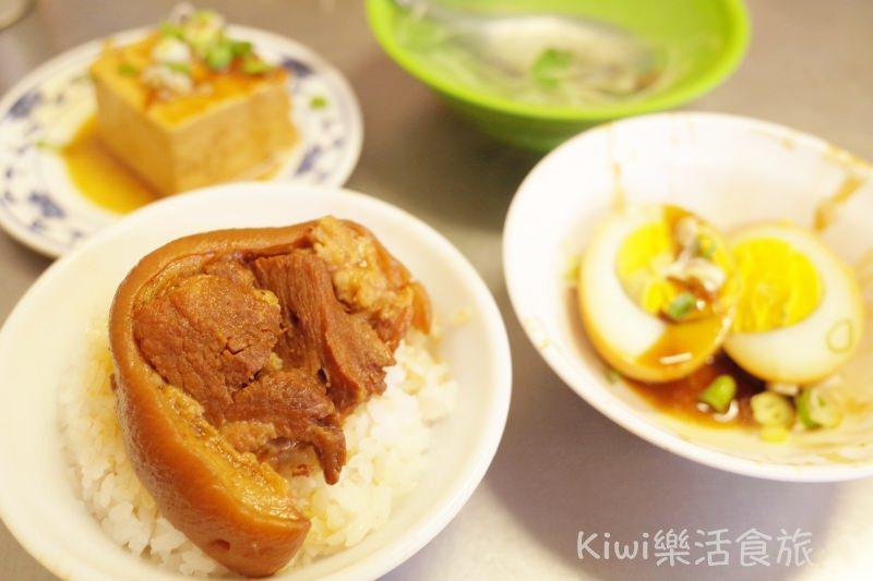 員林美食|阿安爌肉飯(爌肉安) 員林在地老店 早餐來吃腳庫飯搭蜆仔湯一天活力滿滿