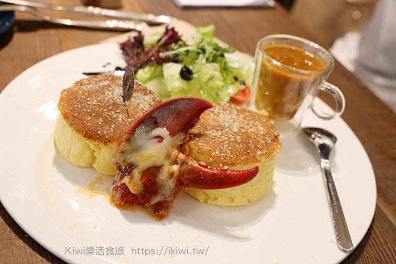 台中西屯區|龍波斯特lobster.foods台中禮客旗艦店 龍蝦舒芙蕾鬆餅 台中午茶拾光