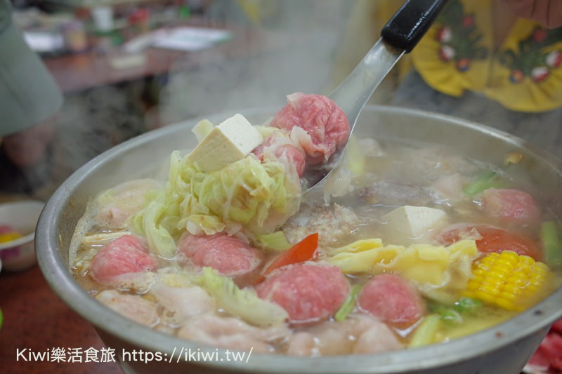 台中北區美食|吉生炭燒沙茶火鍋 :沙茶火鍋 大臉盆火鍋,意猶未盡的享受