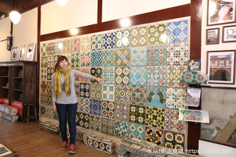 嘉義景點|台灣花磚博物館 花磚古厝交織著一片片美麗的圖騰