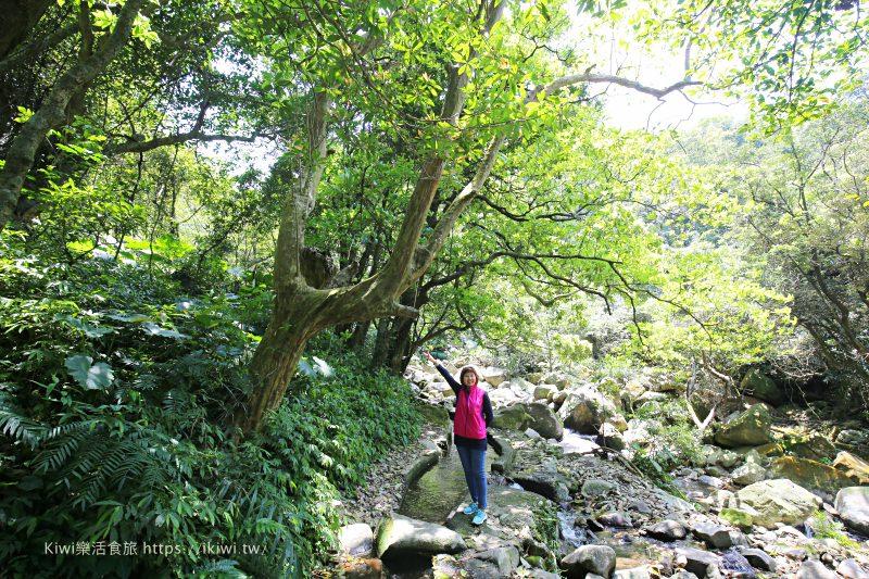 石門景點推薦|新北步道推薦青山瀑布 台北人的後花園 享受恣意的自然氛圍