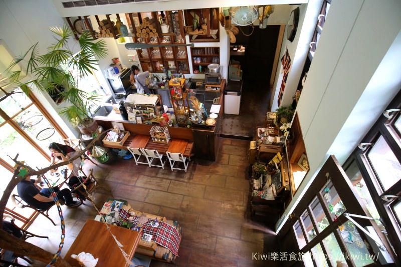 北屯下午茶推薦|台中BUKA這一隻熊 森林系療癒咖啡館 簡餐,咖啡,雜貨 超好拍秘境花園