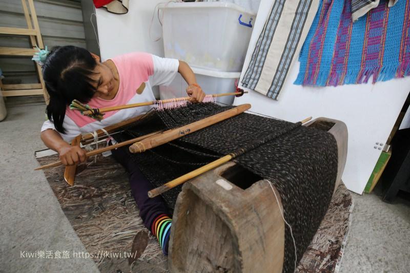 南投中原部落旅遊推薦|傳統織布文化體驗(熊肯作織布的家)、巴蘭生活園區半穴居 南投一日遊程