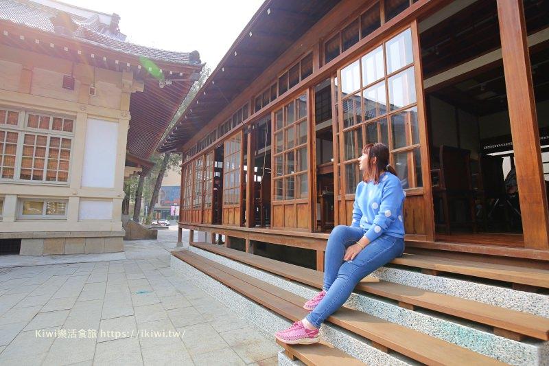彰化武德殿|樂樂食堂 古典老建築x輕食 當網美IG打卡熱點,靜謐氛圍很適合拍照攝影,彰化景點美食推薦