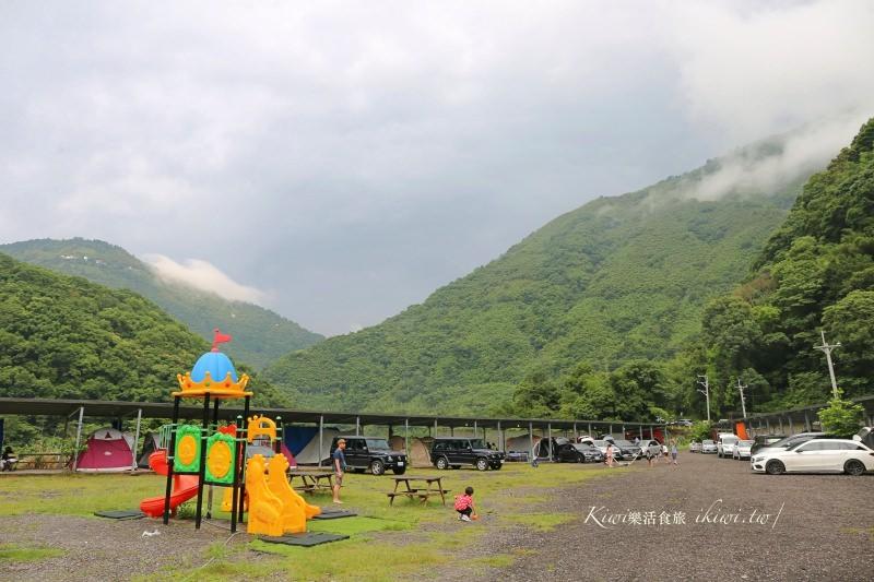 桃園復興爺亨溫泉露營區|享受天然碳酸氫鈉美人湯,泡溫泉露營,近下巴陵、爺亨梯田