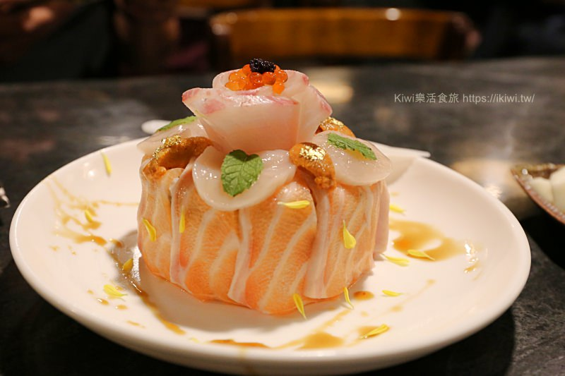 台中錵鑶日本料理文心店|台中日式料理隱藏版推薦美食生魚片壽司蛋糕,丼飯、鍋物,食材新鮮