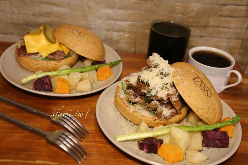 彰化AGA Burger|手作漢堡,阿嘉熟菜漢堡專賣店,肉汁充盈難以忘懷的好滋味,近彰化火車站