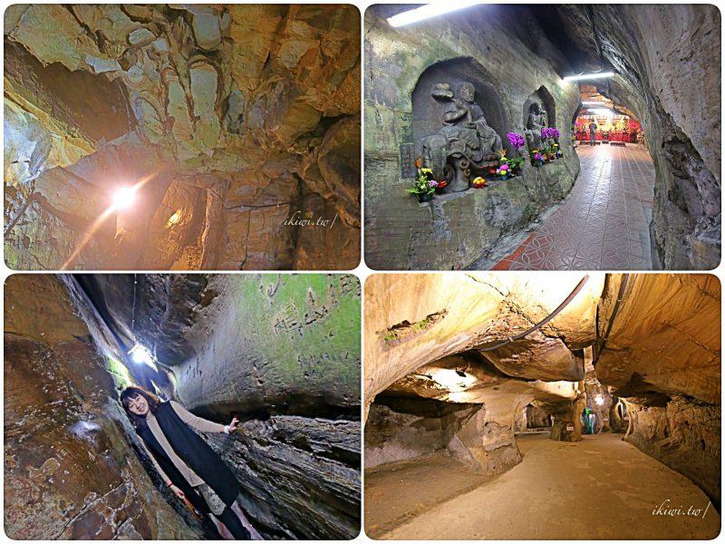 基隆佛手洞、仙洞巖|基隆秘境景點推薦,基隆最大的海蝕洞岩窟,摸乳巷、迷你版敦煌石窟