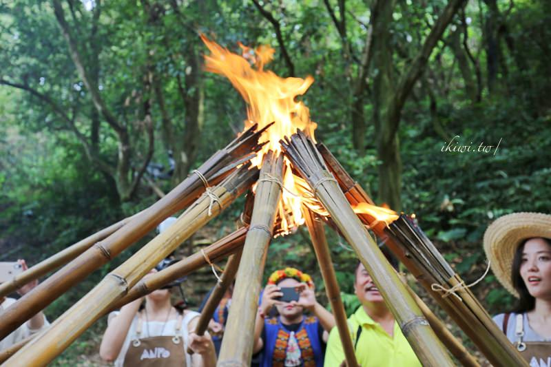 屏東安坡部落 安坡童玩王國製作火把體驗,童玩親子樂大人小孩都愛!