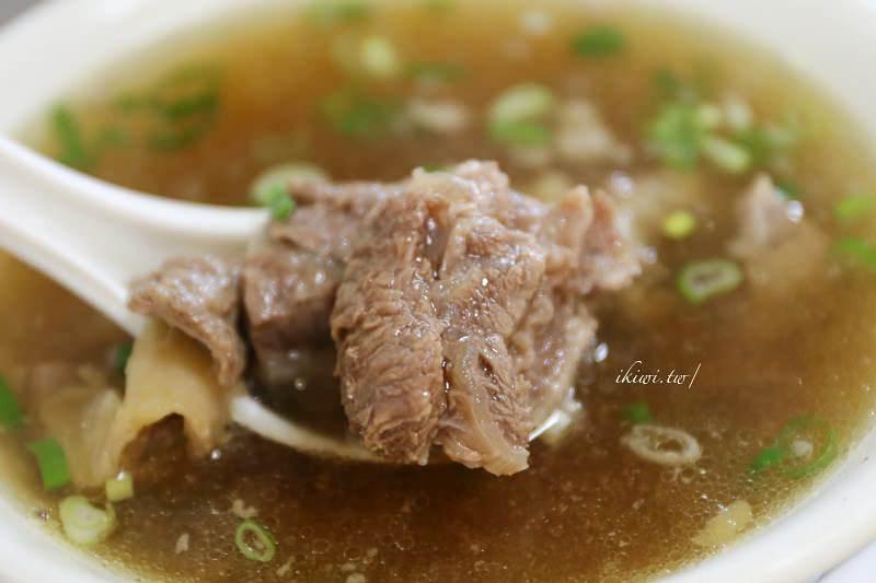 彰化和美牛肉麵|和美無名牛肉麵,和美實驗學校對面清燉牛肉湯,湯頭口口都甘醇