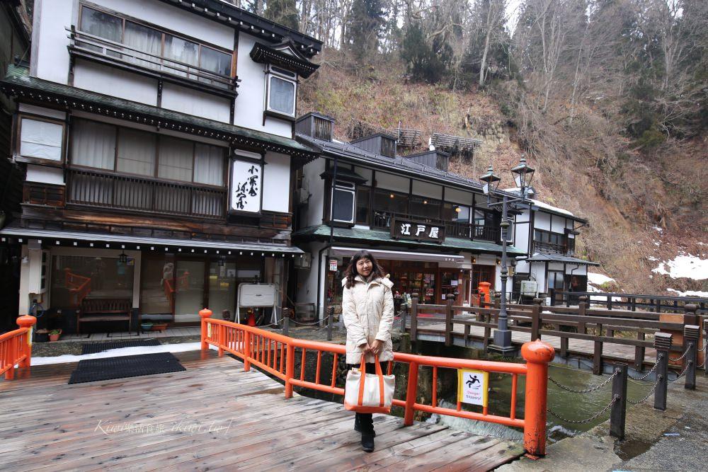 日本銀山溫泉|東北山形景點推薦銀山溫泉 神隱少女的湯婆婆屋場景,百年日式街屋老旅館,美食景點推薦