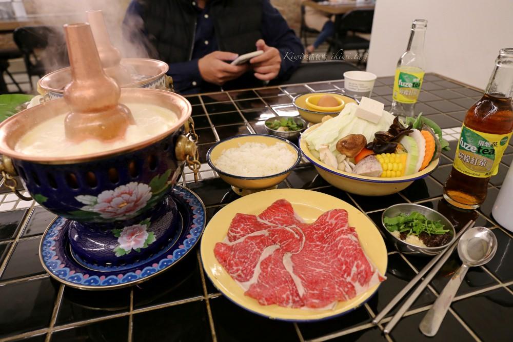 台中芳華火鍋公司|鹹蛋黃入牛奶鍋好滑順,古早味支仔冰,泰藍銅好美,網美打卡集散地