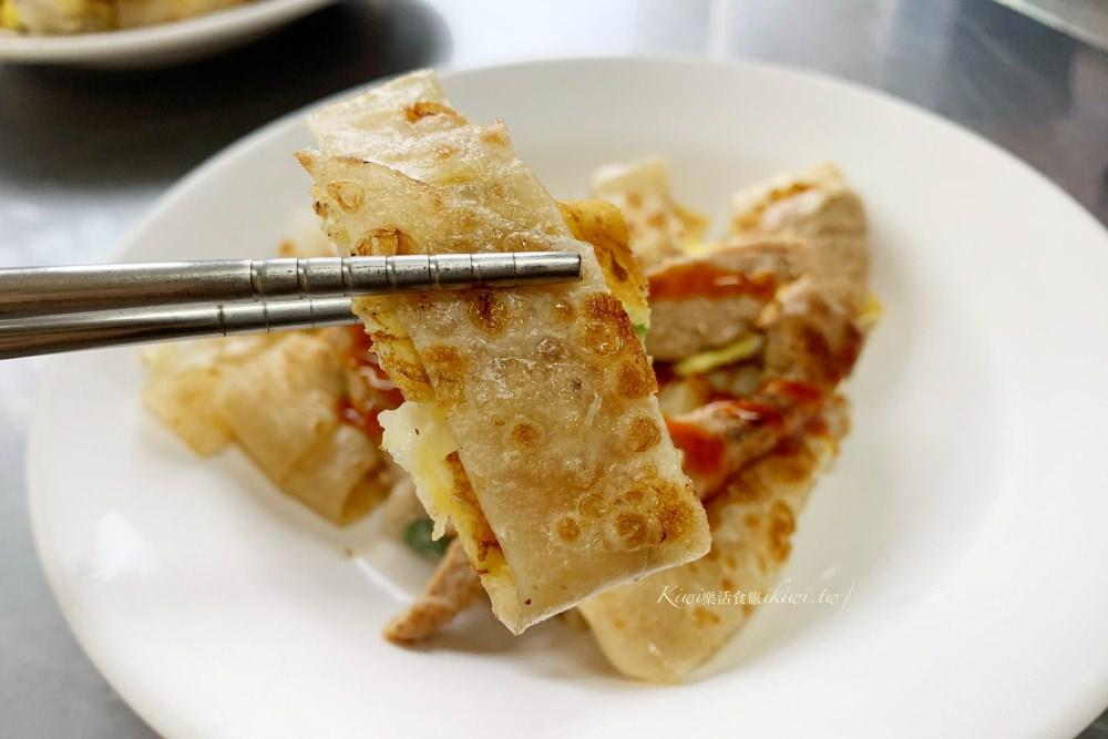 彰化阿美早餐店|彰化早餐隱藏在榕樹下,當日現擀麵糰現做手工蛋餅皮必吃!