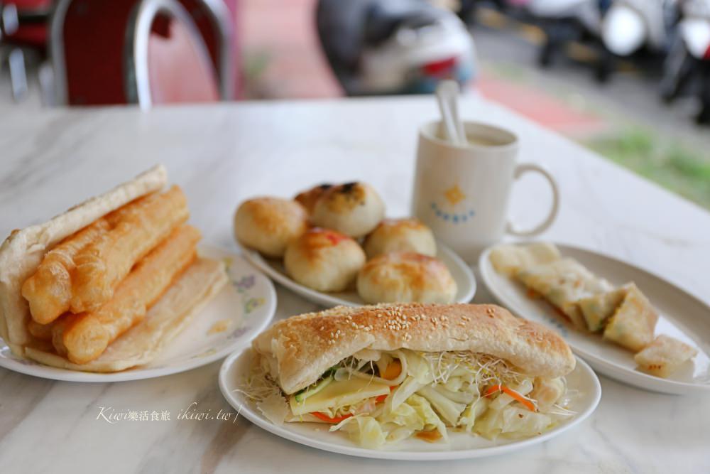 彰化華陽豆漿|華陽市場旁的手做燒餅、小酥餅都是一絕!近彰商商圈、八卦山武德殿商圈美食