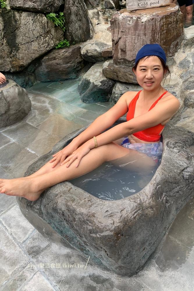 宜蘭鳩之澤溫泉露天溫泉池