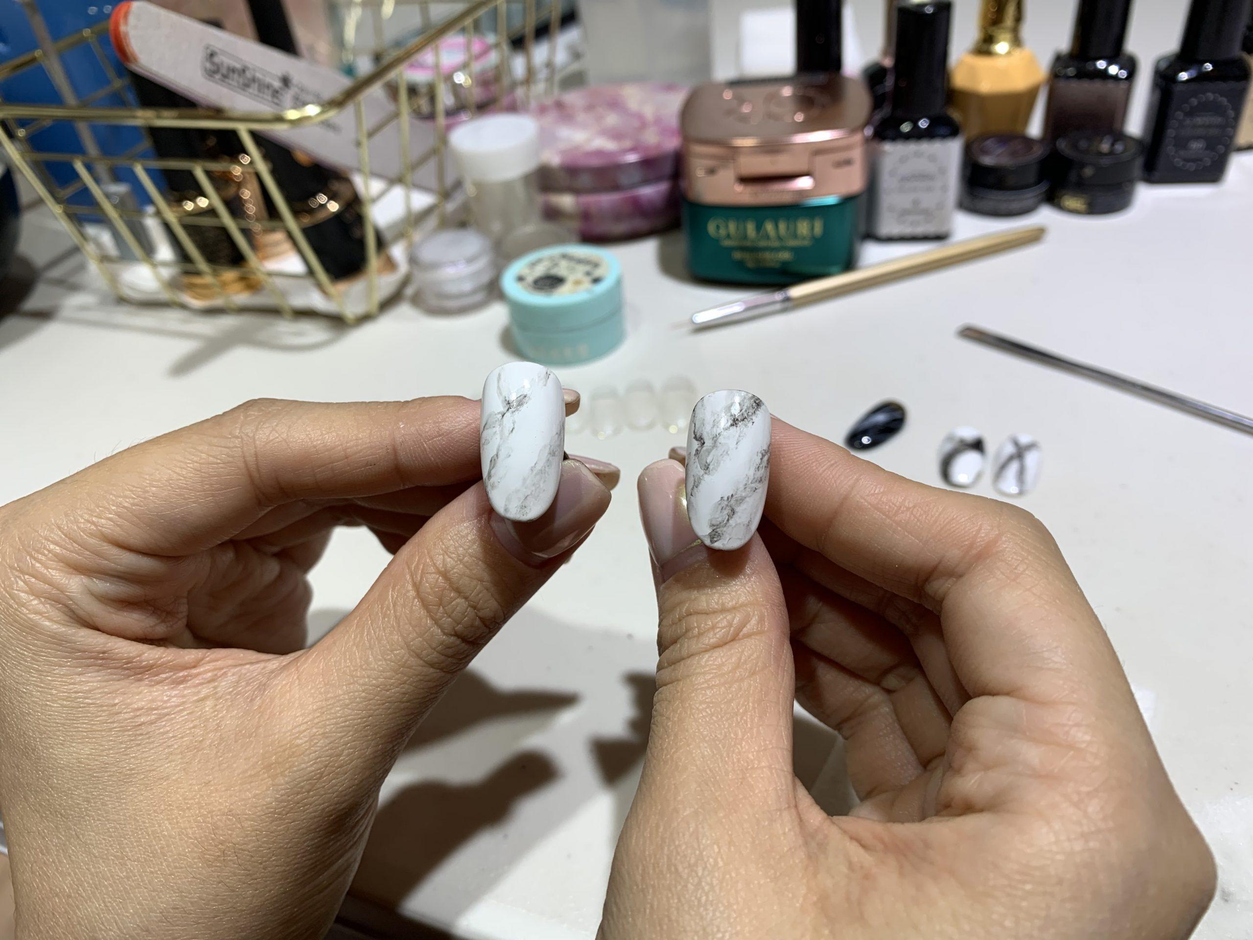 愛甲玩美凝膠美甲彩繪課程-台中美甲課程推薦