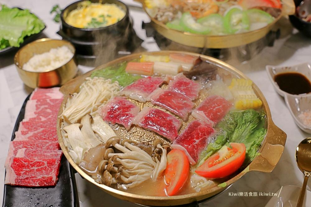 台中韓式料理|銀鉤鍋物銅盤烤肉,韓式銅板烤肉,台中美食推薦近逢甲夜市