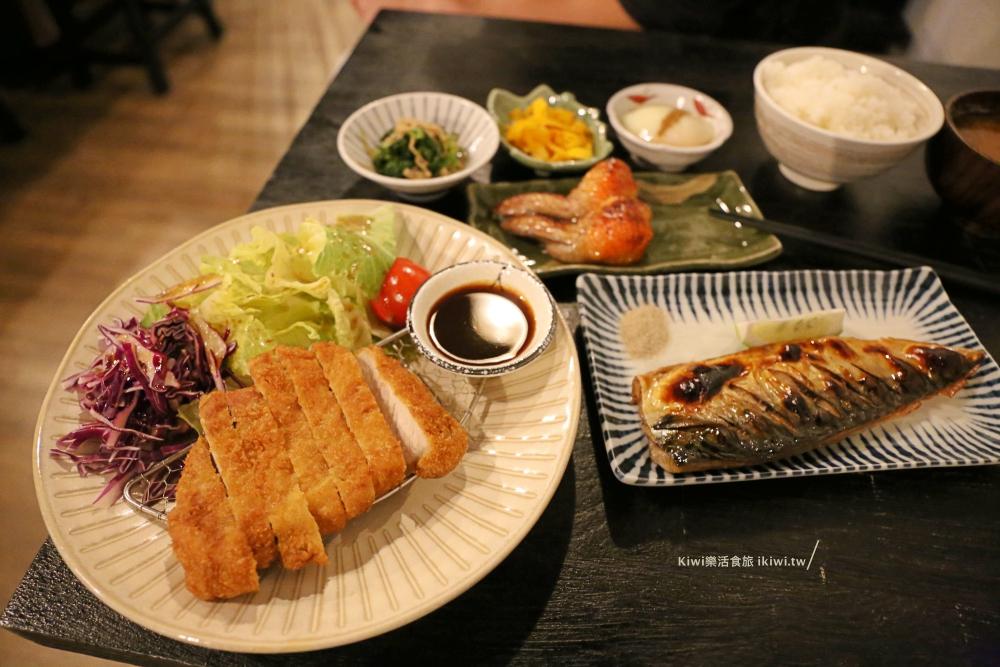虎尾日式料理|木子木子日式定食,隱藏版家庭料理小店,近雲林布袋戲館周邊美食