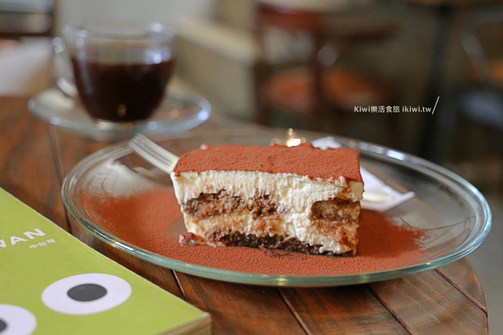 虎尾後院庭園咖啡館手作甜點提拉米蘇