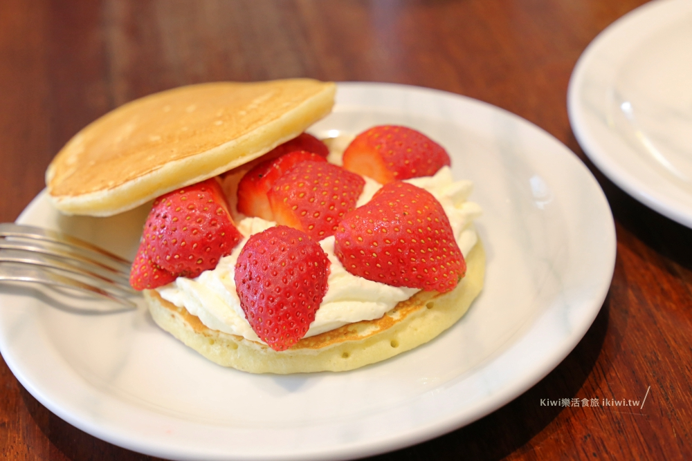那個那個咖啡Naganger Cafe草莓鬆明治