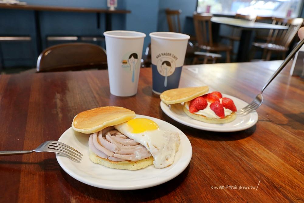 嘉義美食|那個那個咖啡,芋泥鬆明治、草莓鬆明治也好誘人,很文青風的小店近嘉義火車站周邊美食