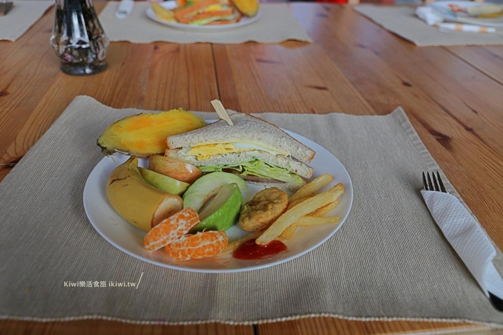 達芭凱花園民宿早餐