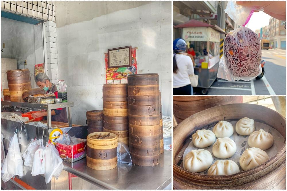 和美美食|蔡媽媽飯糰、在地隱藏版上海小籠包、細緻豆沙包還有各樣饅頭