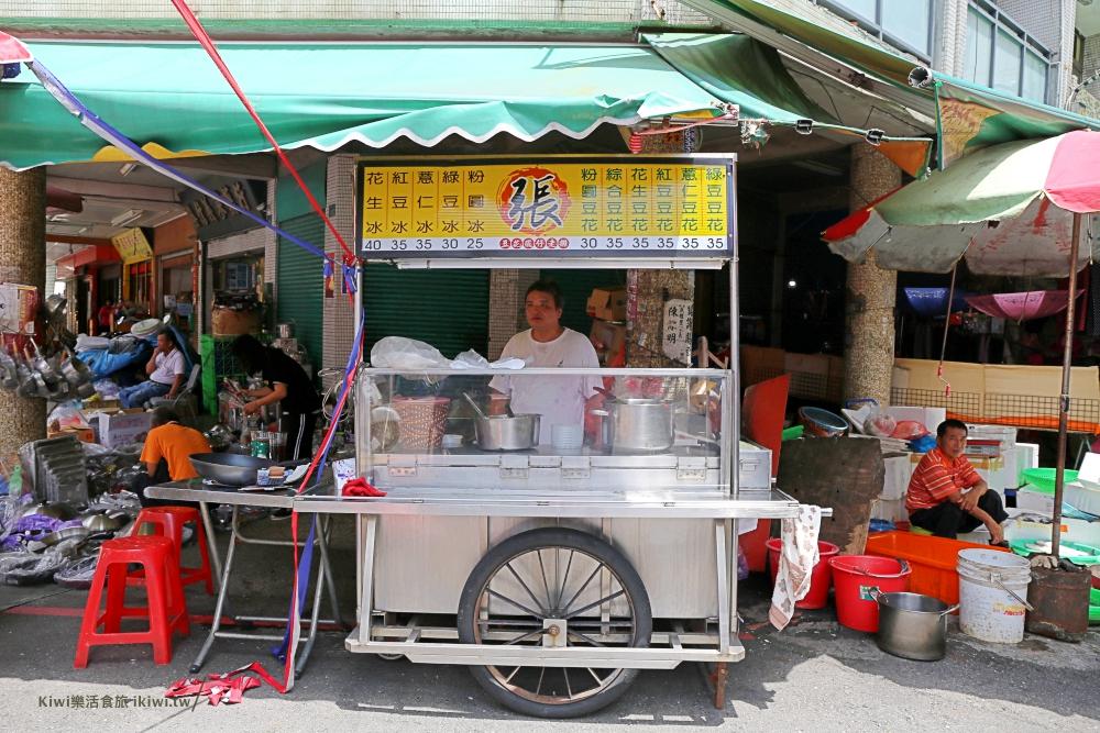 阿張豆花|彰化隱藏版小吃綿密的花生豆花,祖傳精熬甜品人情味滿滿,民權市場周邊美食