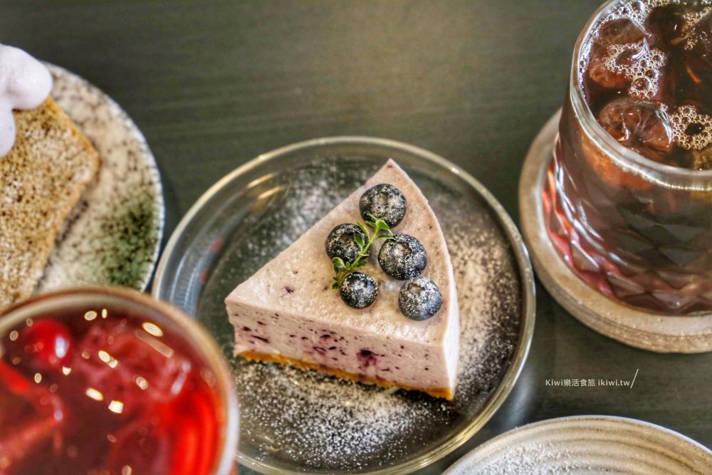 台中珘墨Weekend coffee藍莓生乳酪