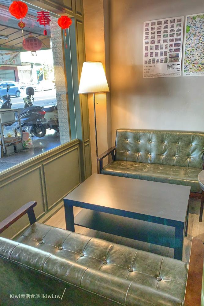 台中珘墨Weekend coffee內用座位