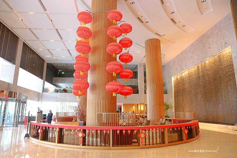 台南香格里拉遠東國際大飯店大廳介紹