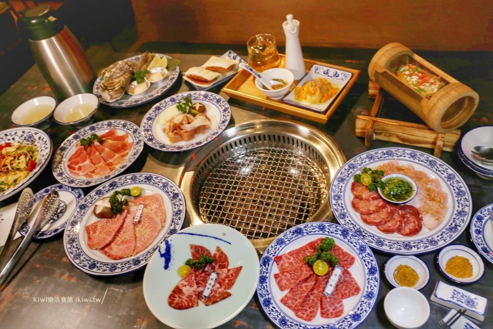 墨妃家|台中燒肉推薦乾式熟成牛肉超威,驚奇不斷的套餐饗宴,夜店宮廷風一起嗨起來!
