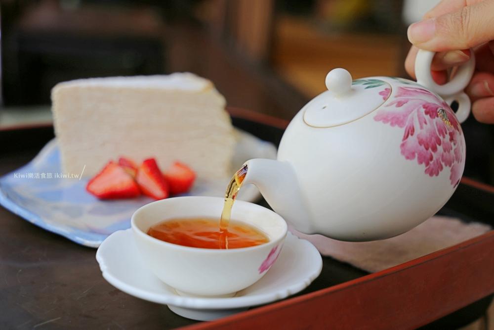 台南新營三一宅藝空間|台南景點舊建築老宅風,烏龍紅茶吃千層蛋糕甜點,下午茶近新營火車站