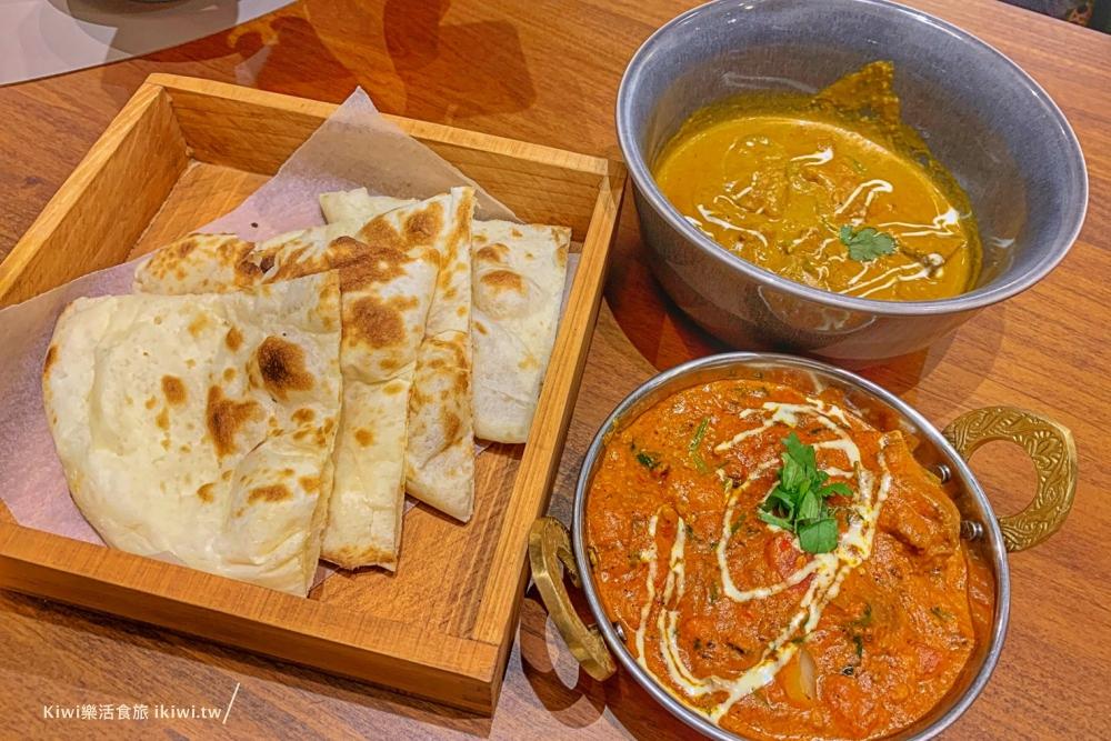 台中盛食咖哩|印度風味咖哩,從嘉義來的人氣咖哩店,外加烤餅搭配咖哩