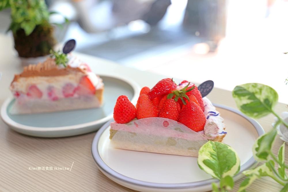 花甜囍室草莓玫瑰烏龍巴斯克草莓超好吃