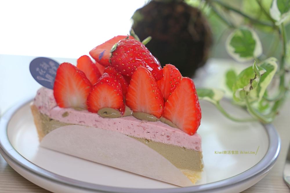 花甜囍室|台中北區浪漫甜點店,科博館附近甜點推薦時令水果限定必吃繽紛草莓乳酪、塔類都很棒