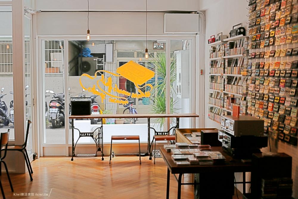 台中感傷唱片行|台中西區美術館周邊下午茶咖啡飲品,卡式帶專賣店,環繞在滿場回憶的場所感觸特別深