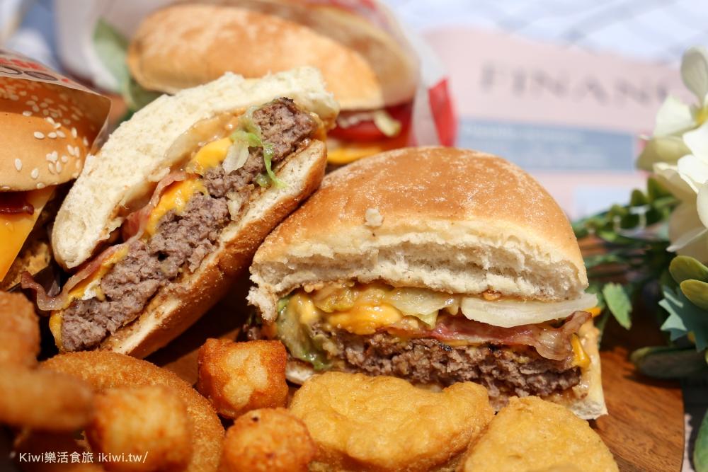 漢堡王推薦澳洲進口的三倍厚牛肉