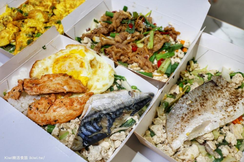艾波廚房彰化店|全台首創豆腐健身餐盒,彰化美食減醣&高蛋白健康餐盒彰化火車站前美食,推薦蔥爆牛、油蔥雞