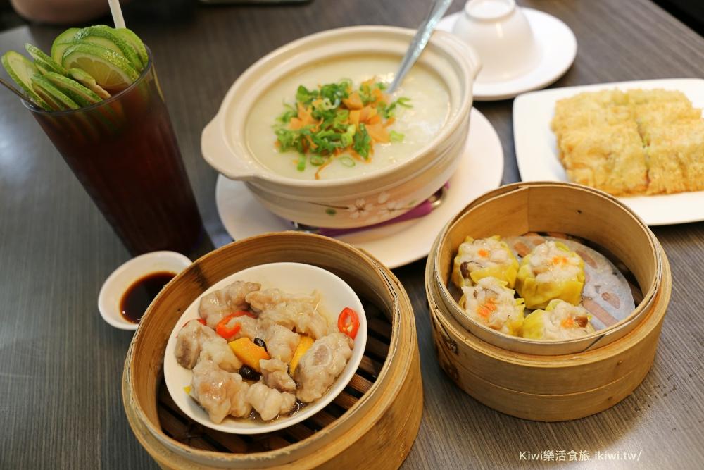 台中港式料理金寶茶餐廳|香港道地港式餐點,金寶茶餐廳必點粥品、燒賣、避風塘蝦,科博館周邊美食