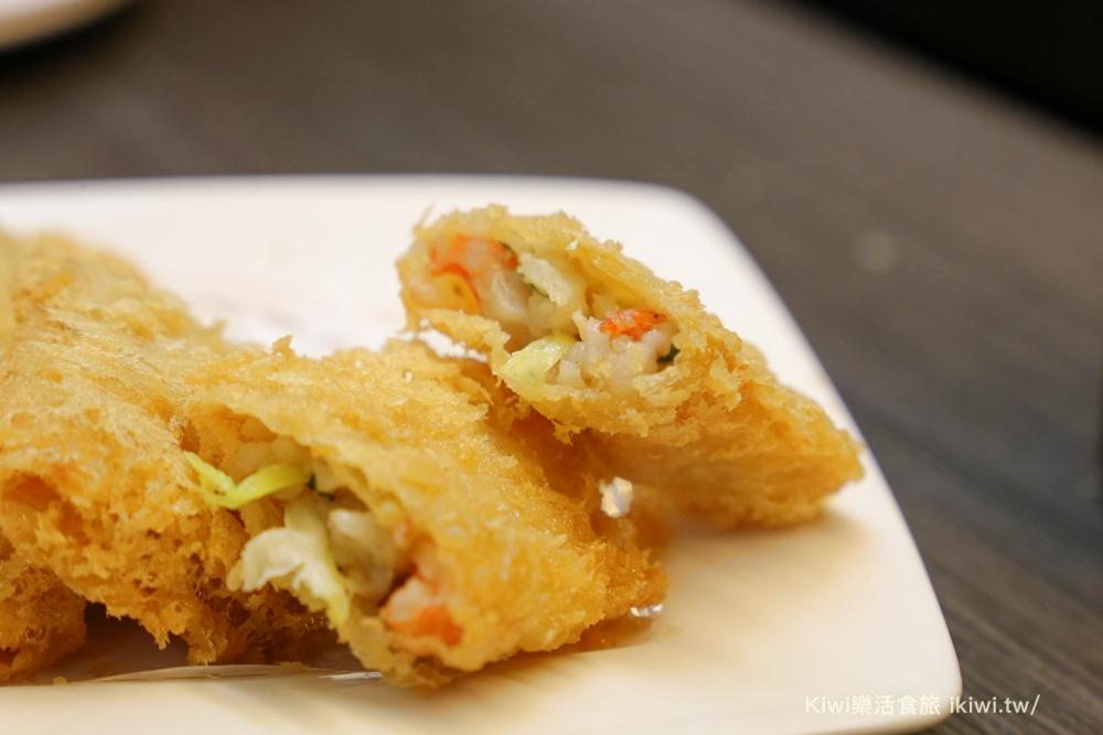 中美食港式餐廳金寶茶餐廳館前店科博館周邊美食鮮蝦腐皮卷
