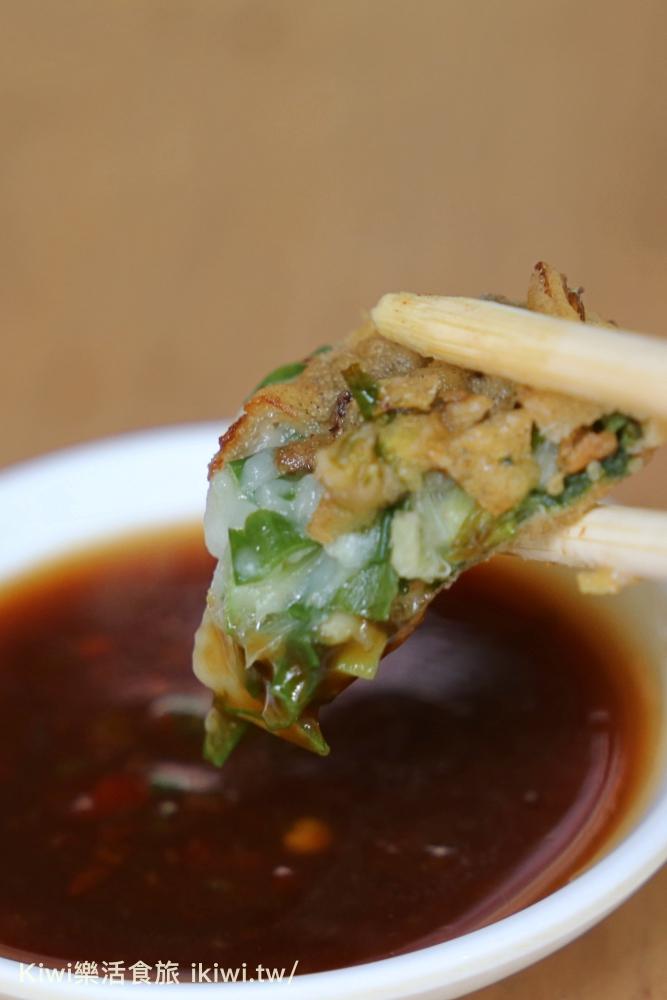 彰化芳苑大樹下蚵嗲隱藏版在地早餐銅板美食推薦蚵嗲、肉嗲、花枝嗲