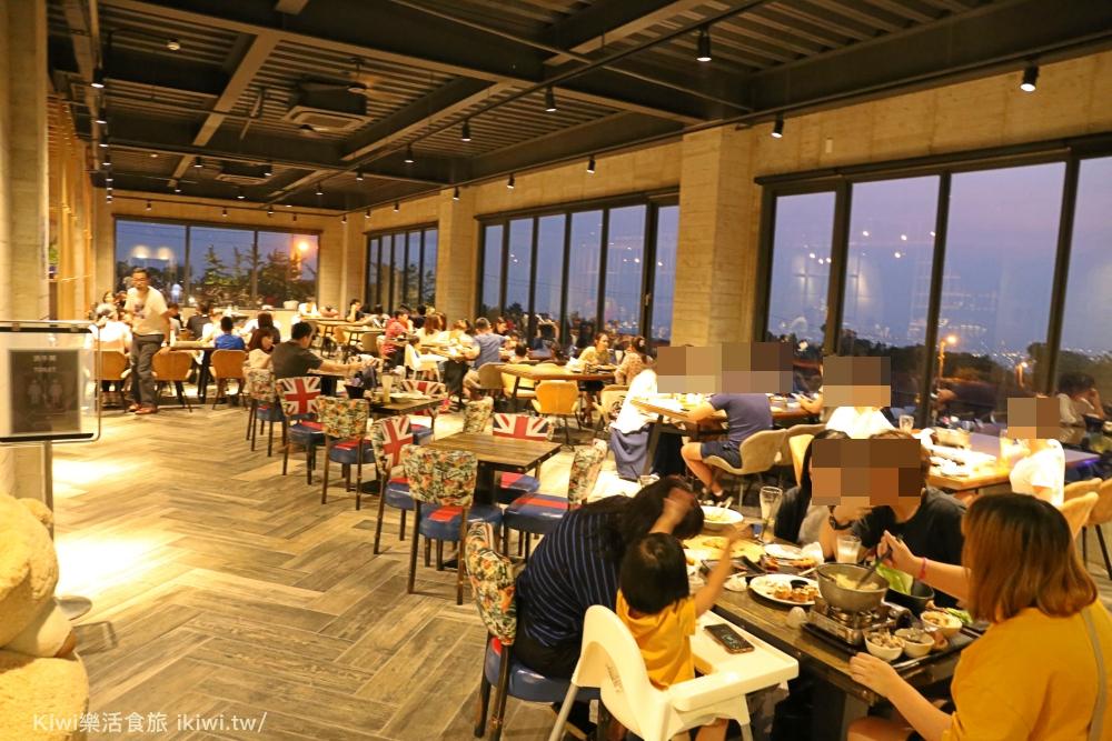 沙鹿黑森林景觀咖啡台中景觀餐廳推薦IG網美打卡熱點夜景