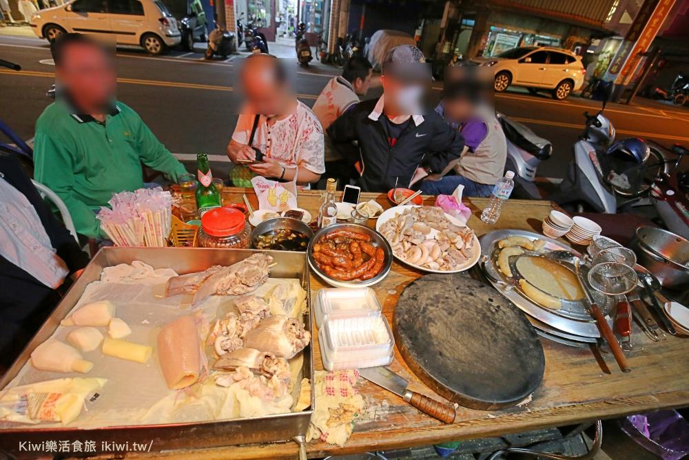 樹木大腸圈担彰化宵夜美食小吃黑白切kiwi樂活食旅美食達人推薦在地無名小吃