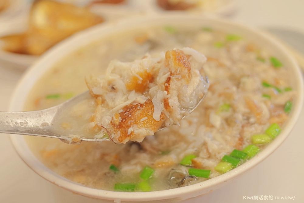 台南美食阿堂鹹粥中西區美食台南小吃魚腸魚肚鹹粥kiwi樂活食旅台南美食達人