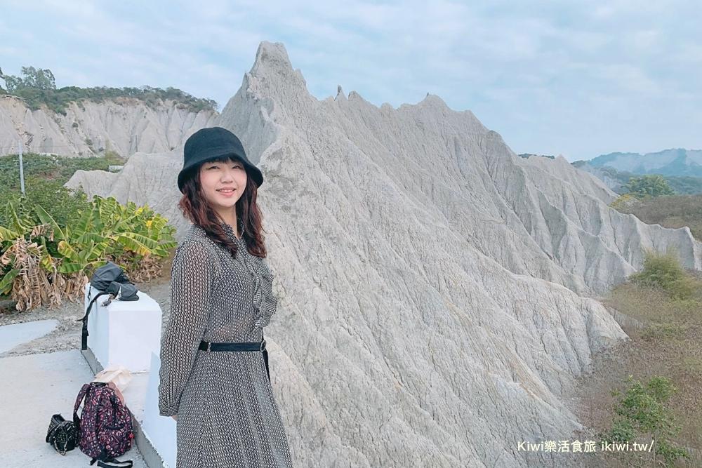 台南大內秘境|赤裸龍(彩疊山),迷你版的月世界惡地地景,世界級自然地景