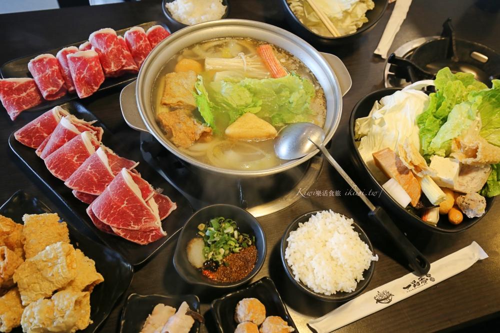 一品香火鍋斗六店|雲林排隊美食,平價石頭火鍋、涮涮鍋隨意單點也可以吃到飽
