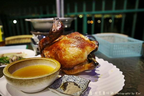 【彰化夜景餐廳】看夜景吃甕仔雞?夜景甕仔雞餐廳 @270度環景視覺饗宴,平價美食